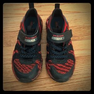 Boys sneakers Spider-Man colors